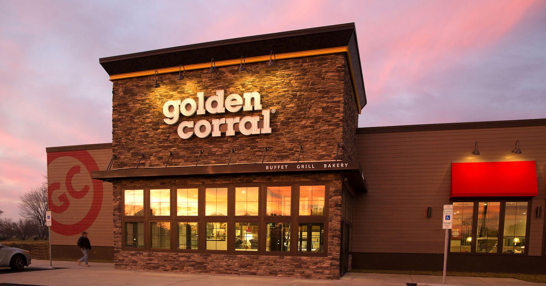 golden corral exterior