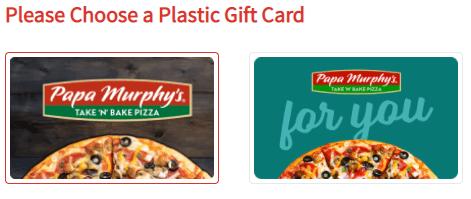 papa murphy gift card