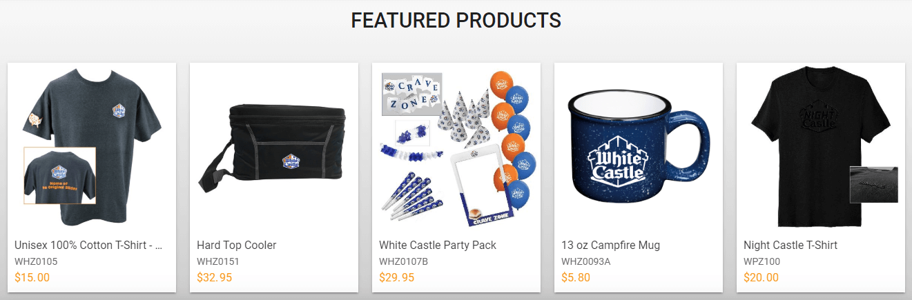 white castle gift card offers